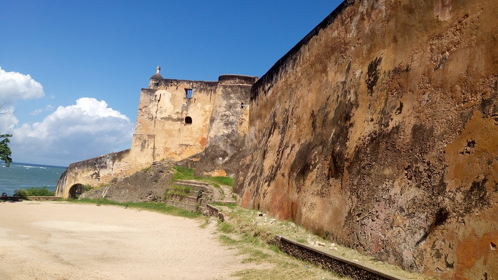 View from the 16th century Portuguese fort