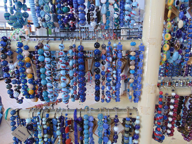 Beads at the Kazuri Bead Shop