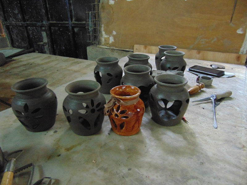 African Pot Making