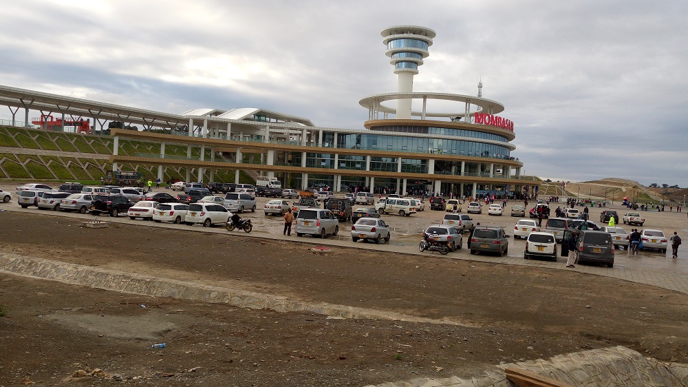 SGR Train Terminal in Mombasa