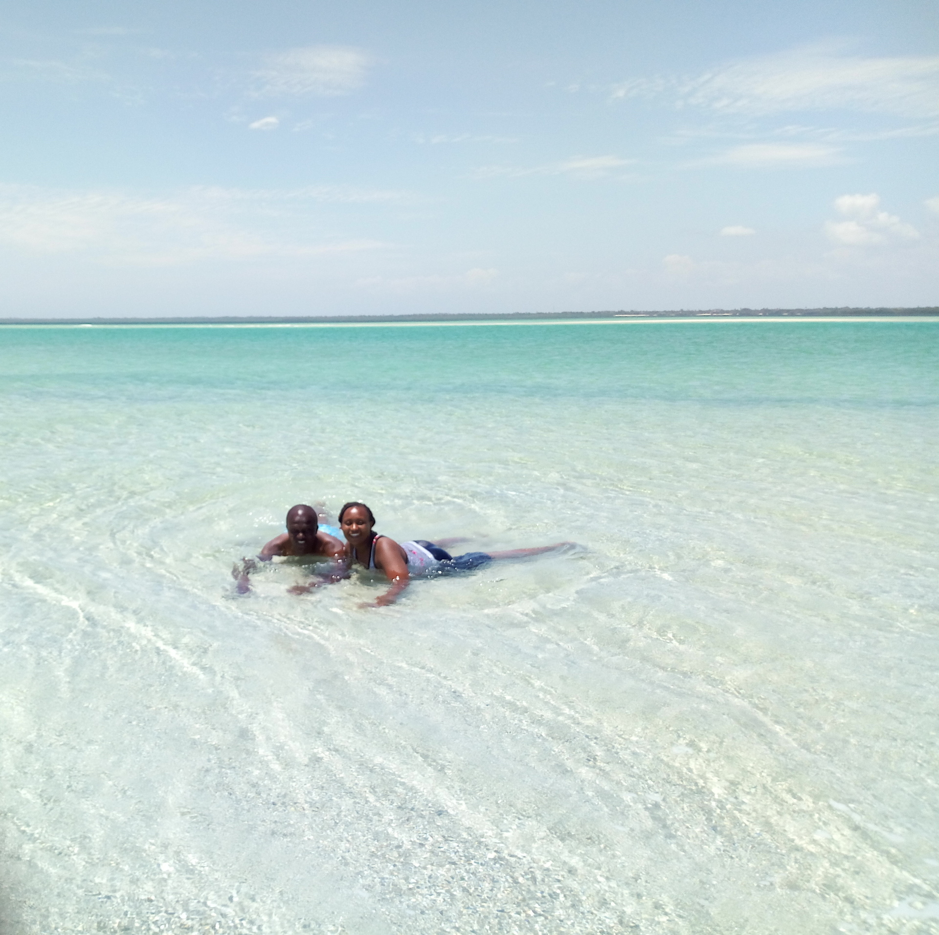 Enjoying The Calm Waters of Lost Paradise With My Wife
