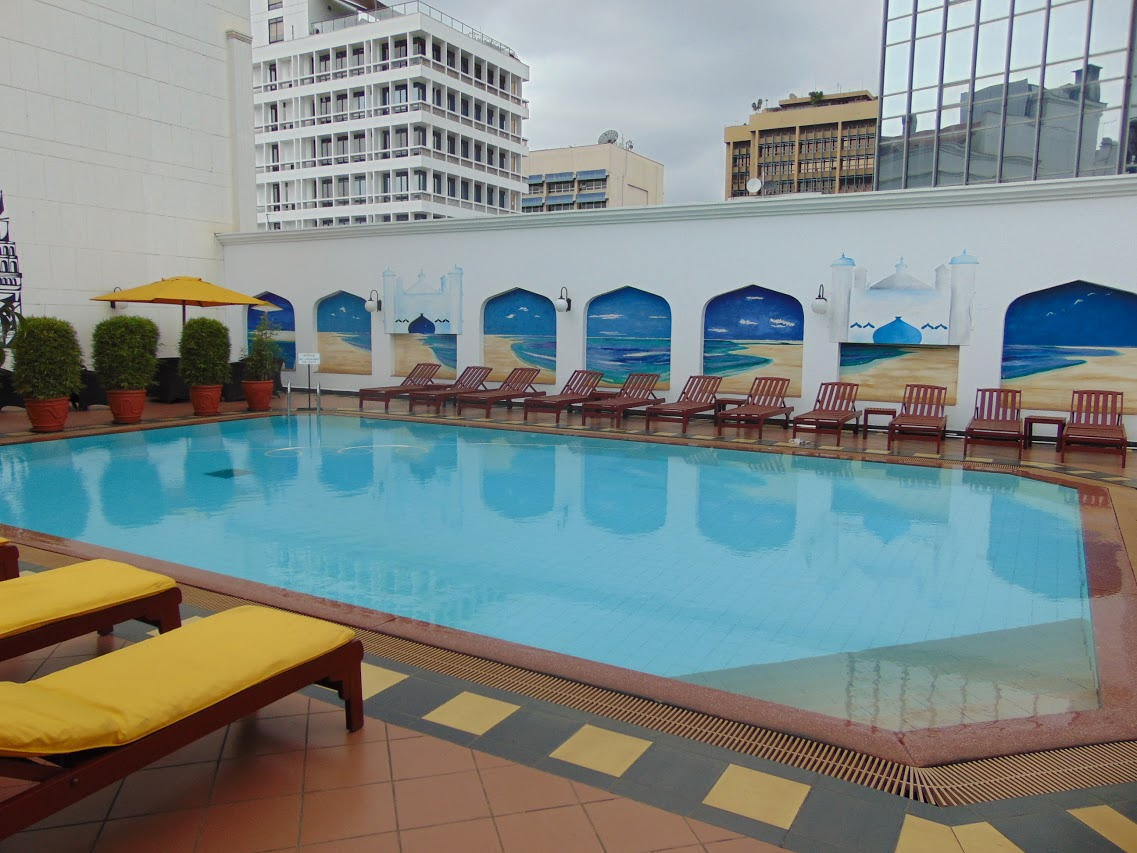 Swimming Pool at the Sarova Stanley