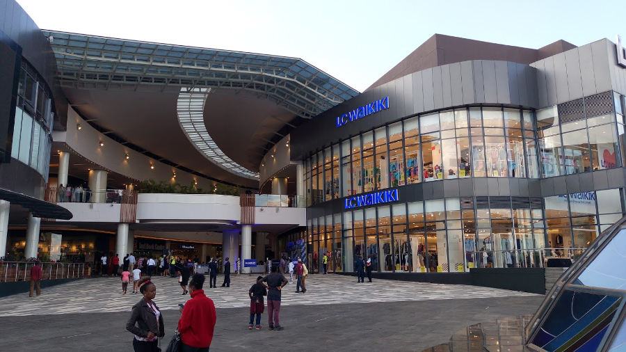 Two Rivers Mall in Nairobi