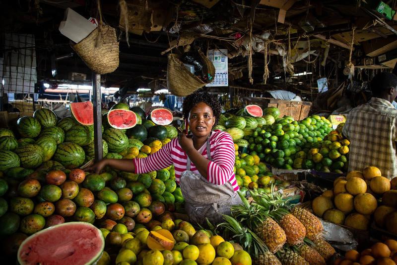 Market in Nairobi