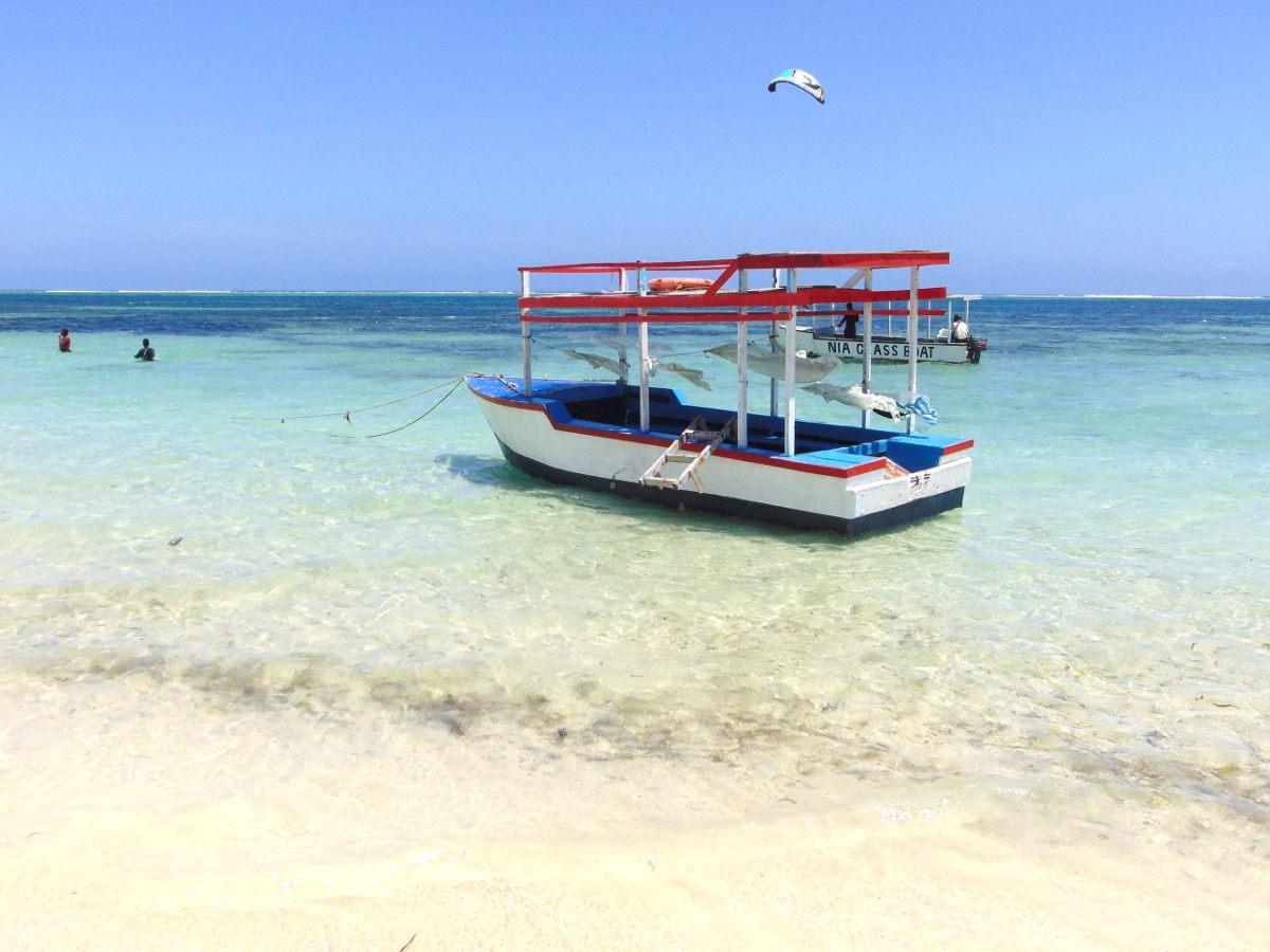 Boat trip - Kenya